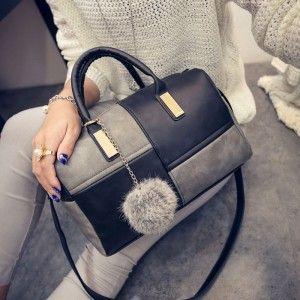 New-2015-bolsas-women-leather-shoulder-handbags-famous-designer-brands-high-quality-Boston-multicolour-mosaic-messenger