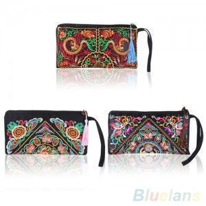 Women-s-Retro-Ethnic-Embroider-Purse-Wallet-Clutch-Card-Coin-Holder-Phone-Bag-1UC2-4OR4