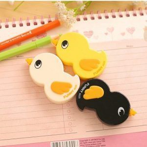 2015-Stationery-Papeleria-Corretivo-Escolar-Fita-Kawaii-Duck-Cartoon-Animals-Correction-Tape-Fluid-School-Office-Supply