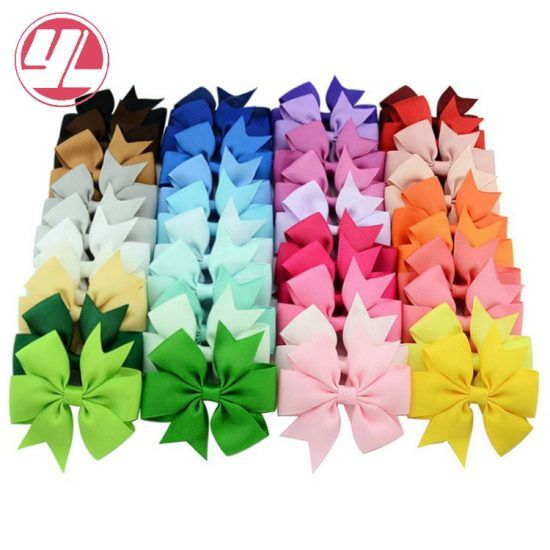 mixcolor-40pcs-lot-3-inch-grosgrain-ribbon-hairpins-baby-girl-bows-with-clip-hair-clips-kids