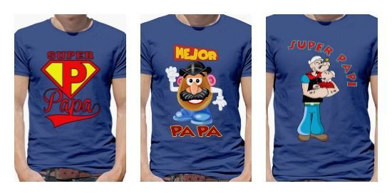 Camisetas superpapa
