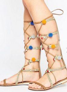 sandalias romanas asos