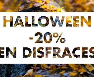 Descuento del 20% en disfraces de Halloween en Kiabi