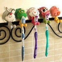 Colgador de cepillos de dientes infantiles