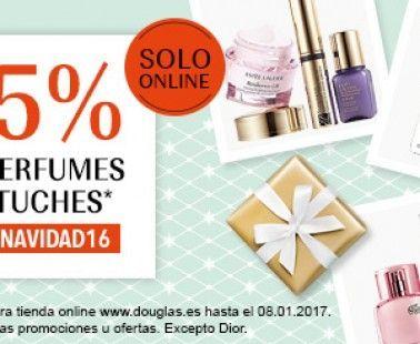 Descuento 25% en perfumes y estuches sólo online – Douglas