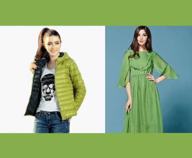 Greenery: Prendas baratas con el color de 2017