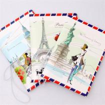 Funda de pasaporte con dibujos