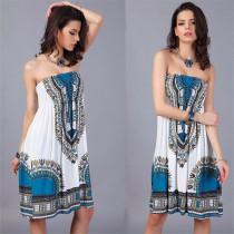 Vestido vintage estampado