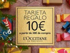 Tarjeta  regalo de 10€ por compras superiores a 30€- L'Occitanne en Provence