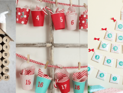 Calendario de adviento DIY: baratos y originales
