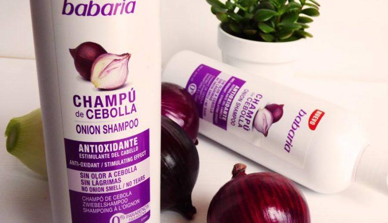 Champú de cebolla Babaria: extraño pero efectivo