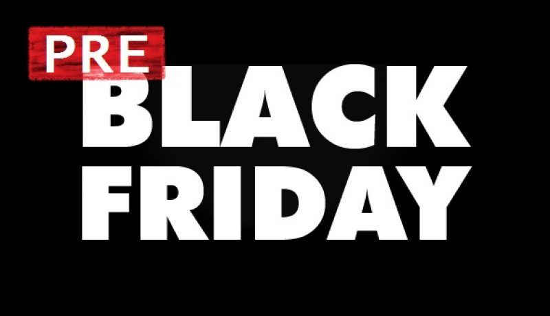 Adelántate al Black Friday