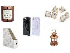 Mármol y cobre: únete a los estampados tendendia