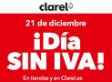 Día sin IVA en Clarel
