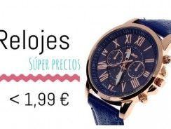 Relojes por menos de 2 Euros que adoramos en Aliexpress