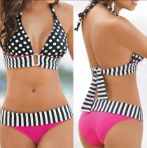 Bikini de estampados combinados