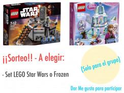 Set de LEGO Star Wars o Frozen