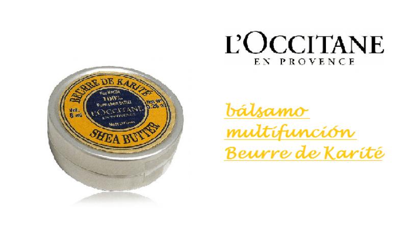 El bálsamo multifunción Karité de L'Occitane