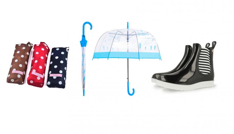 Prendas ideales para que la lluvia te resbale