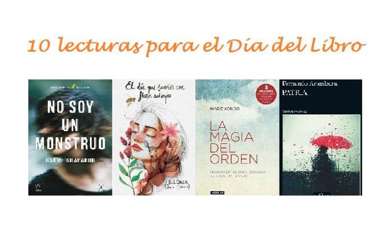 10 lecturas con las que acertar en el Día del Libro