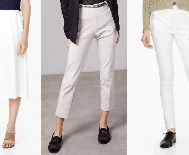 Pantalones blancos: el must have de cada temporada