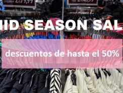Mid season sale: tiendas con rebajas de primavera