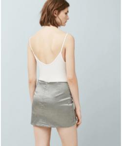falda cruzada