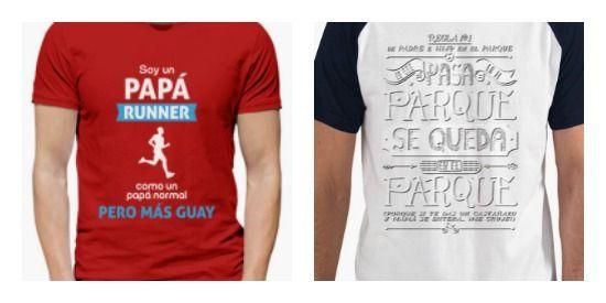 camisetas frases graciosas padres