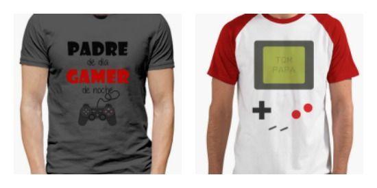 camisetas videojuegos papas