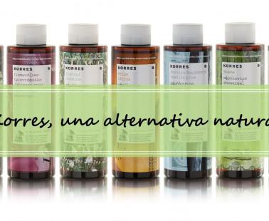 Gel de ducha Korres – una alternativa natural