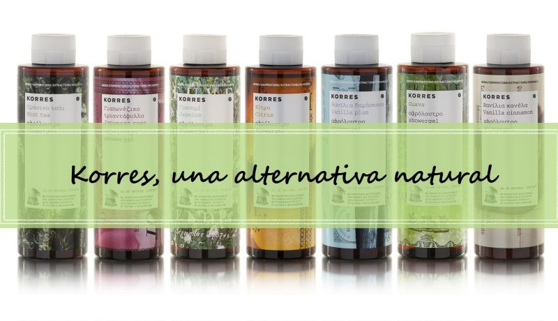 Gel de ducha Korres – una alternativa natural